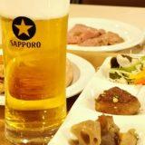 強羅ホテルパイプのけむりのサッポロビール